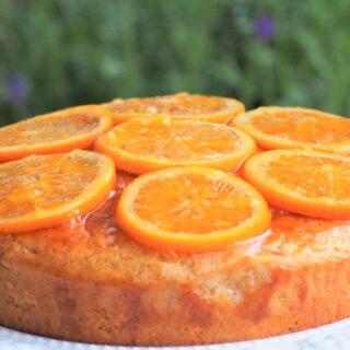 ネーブルのヨーグルトケーキ