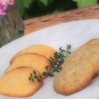 オレンジマーマレードと紅茶のソフトクッキー